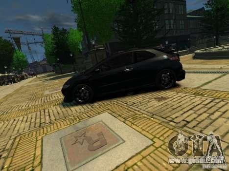 Honda Civic Type R Mugen for GTA 4 left view
