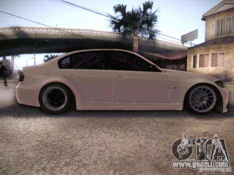 BMW 320SI Drift for GTA San Andreas inner view