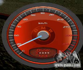 BMW Speedometer for GTA San Andreas