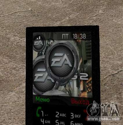 New themes for your phone for GTA 4 seventh screenshot