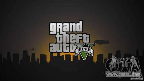 Loading screens of GTA 5 for GTA San Andreas