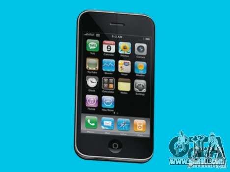 Iphone for GTA San Andreas