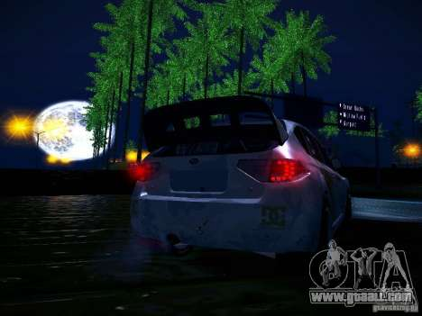 Subaru Impreza WRX STi N14 Rallycross for GTA San Andreas interior