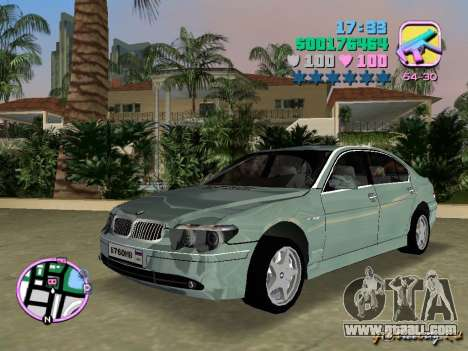 BMW 760 Li for GTA Vice City