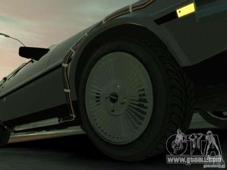 DeLorean BTTF 2 for GTA 4 side view