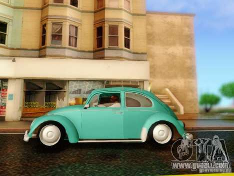 Volkswagen Beetle 1300 for GTA San Andreas right view