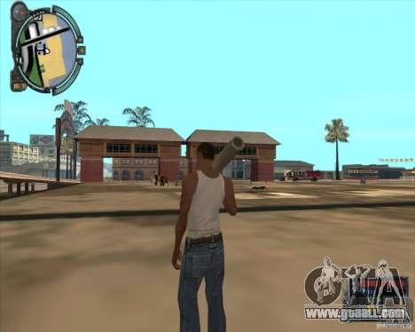S.T.A.L.K.E.R. Call of Pripyat HUD for SA v1.0 for GTA San Andreas seventh screenshot