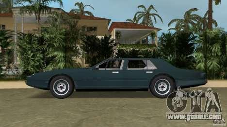 Aston Martin Lagonda (I) 5.3 (1976-1997) for GTA Vice City left view