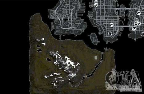 Countryside Mountains V for GTA 4 ninth screenshot