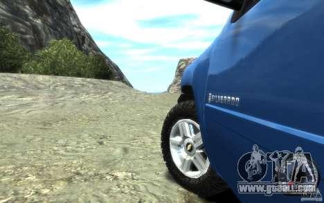 Chevrolet Silverado 2008 for GTA 4 back view
