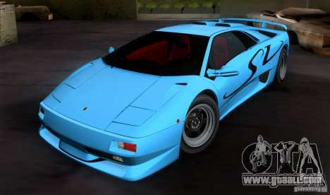 Lamborghini Diablo SV V1.0 for GTA San Andreas