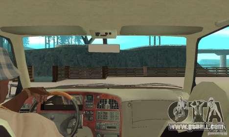 Saab 9000 GT Drifting 1998 for GTA San Andreas back view