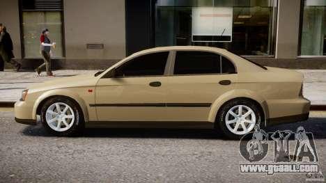 Chevrolet Evanda for GTA 4 back left view