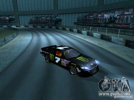 Toyota Camry Nascar Monster Energi Nr.7 for GTA San Andreas left view