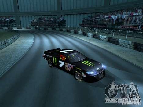 Toyota Camry Nascar Monster Energi Nr.7 for GTA San Andreas left view