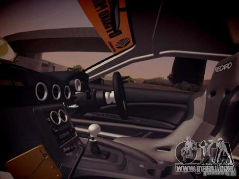 Nissan Silvia S15 Top Secret v2 for GTA San Andreas inner view
