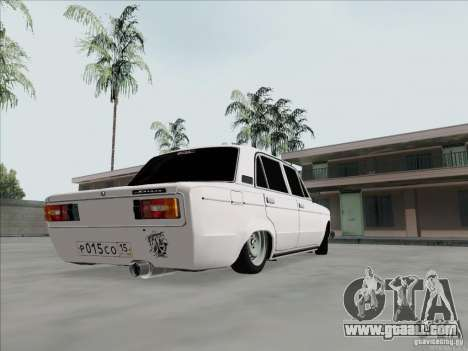 VAZ 2106 BPAN for GTA San Andreas back left view