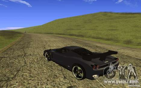 Ferrari Enzo ImVehFt for GTA San Andreas back left view