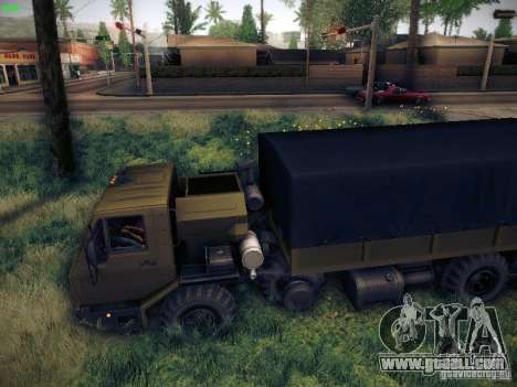KrAZ 6316 for GTA San Andreas left view