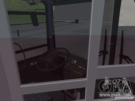 Buses 6222 for GTA San Andreas upper view