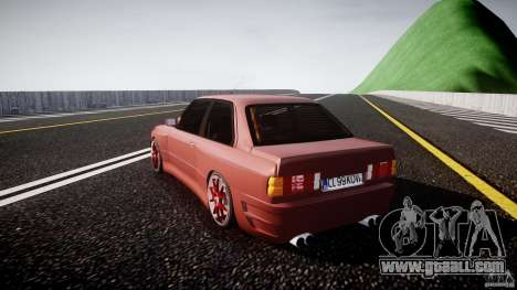 BMW E30 v8 for GTA 4 back left view