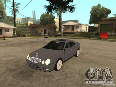 Mercedes-Benz CLK320 Coupe for GTA San Andreas
