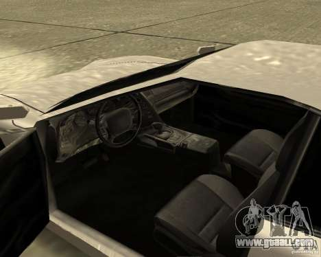 Azik Turismo for GTA San Andreas right view
