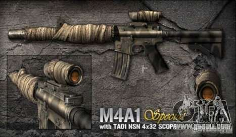 [Point Blank] M4A1 S for GTA San Andreas