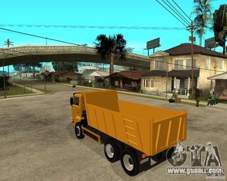 KAMAZ 6520 TAI for GTA San Andreas left view