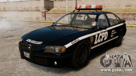 New Police Patrol for GTA 4 back view