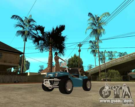 Volkswagen Dune Buggy for GTA San Andreas back left view