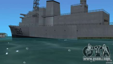 Fregate F70 ASM for GTA Vice City left view