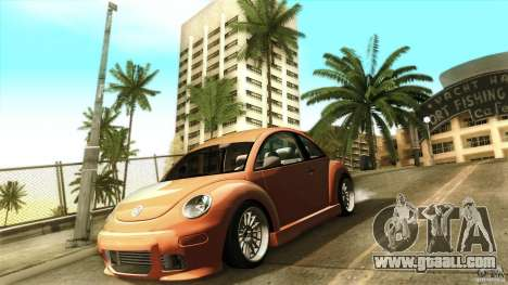 Volkswagen Beetle RSi Tuned for GTA San Andreas