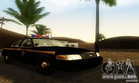 Ford Crown Victoria Montana Police for GTA San Andreas
