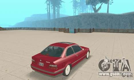 BMW 325i Coupe for GTA San Andreas left view
