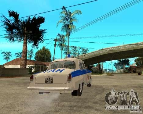 Gaz-21r GAI for GTA San Andreas right view