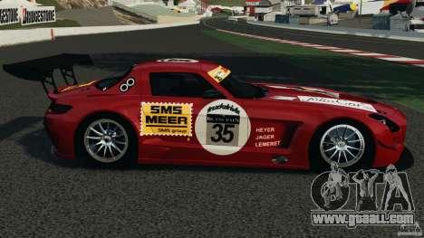 Mercedes-Benz SLS AMG GT3 2011 v1.0 for GTA 4 left view