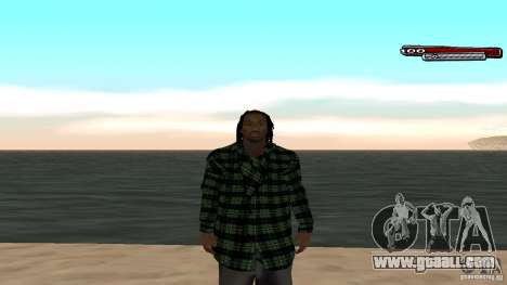 New skin Grove HD for GTA San Andreas fifth screenshot