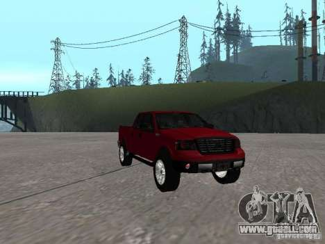 Ford F-150 2005 for GTA San Andreas back view