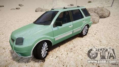 Ford EcoSport for GTA 4 wheels