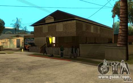 New great cjs house for GTA San Andreas second screenshot