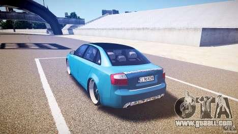 Audi S4 Custom for GTA 4 back left view