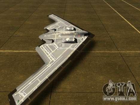 B2 Spirit for GTA San Andreas left view
