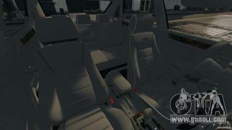 Audi RS6 2003 for GTA 4 inner view