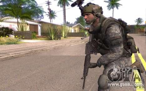 Cpl. Dunn for GTA San Andreas second screenshot