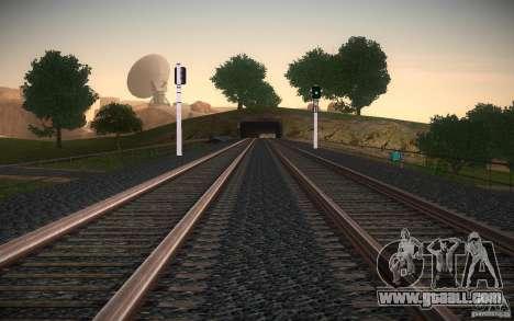 HD Rails v 2.0 Final for GTA San Andreas sixth screenshot