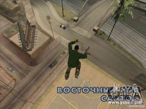 Jump off the Jet pack for GTA San Andreas third screenshot