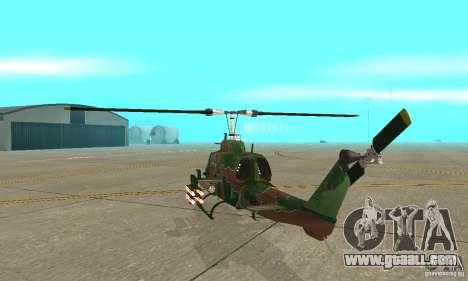 AH-1 super cobra for GTA San Andreas right view