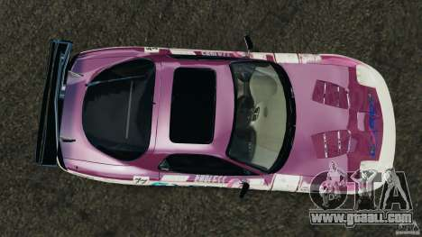 Mazda RX-7 EXEDY D1 for GTA 4 right view