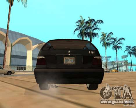 BMW 318i Touring for GTA San Andreas inner view